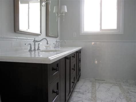 Gray Walls-transitional-bathroom-benjamin Moore
