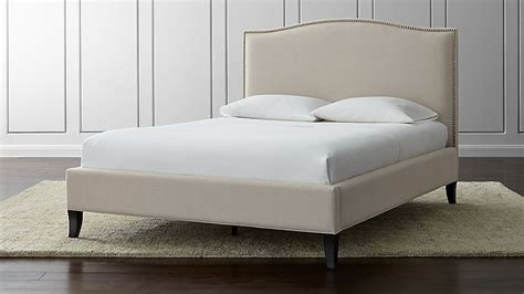 colette upholstered bed origin crate and