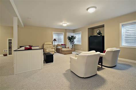 Basement Finishing Ideas In Modern Decor Laminate Flooring Armstrong How To Lay Glueless With Dark Cabinets Bona Cleaner For Floors Choose Thickness Wood Floor Reviews Installing Over Concrete Rugs