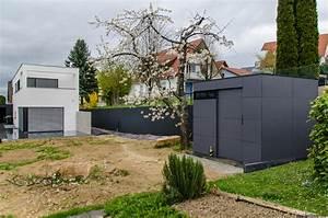 Gartenhaus Modernes Design : gartenhaus flachdach modern und zeitlos ~ Markanthonyermac.com Haus und Dekorationen