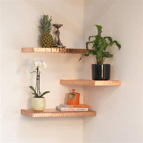 Hand Finished Copper Shelf By Mr J Designs