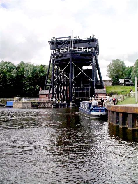 Boat Lift In Spanish by Schiffshebewerk Anderton