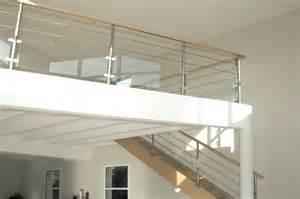 escalier design rambarde bois et verre s 233 lection artisanale