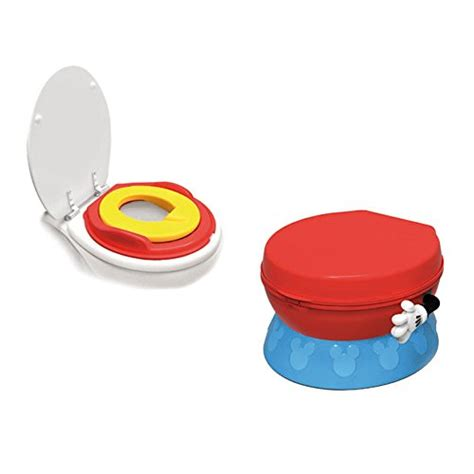 Mickey Mouse Potty Seat And Step Stool by Tomy Years Disney Mickey Mouse Potty System Ebay