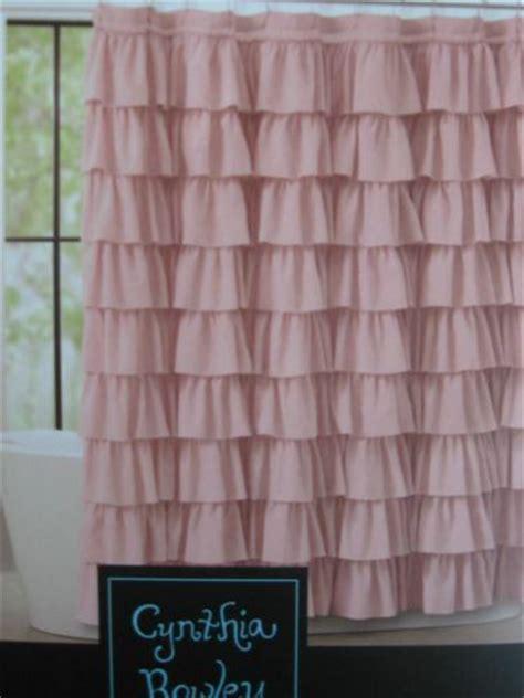 cynthia rowley ruffled shabby chic cottage flamenco shower