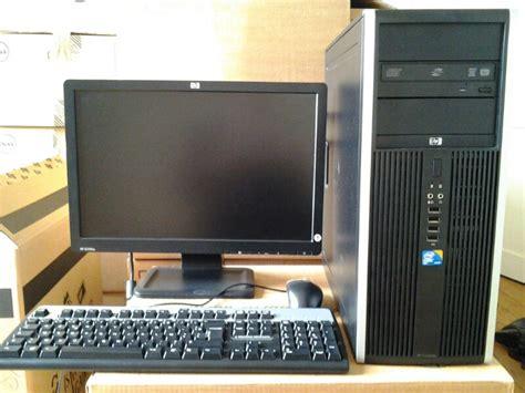 informatique pc de bureau hp inf198 webencheres
