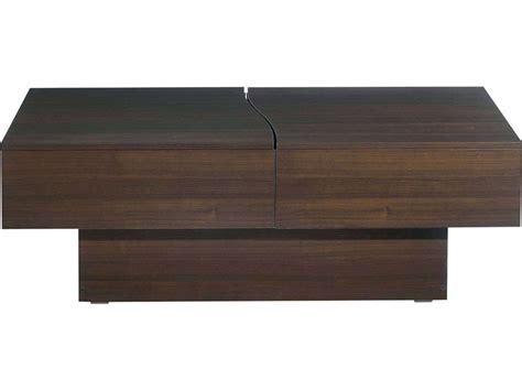 table basse noir simple ezooq
