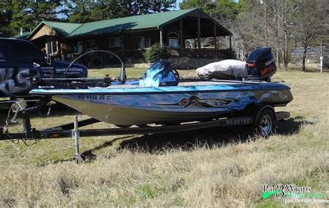 Boat Wraps Tyler Tx by Vinyl Boat Graphics For Fishing Boats In Tyler Tx Par 3