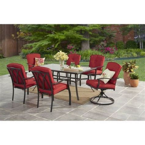 outdoor 7 patio dining set outdoor furniture