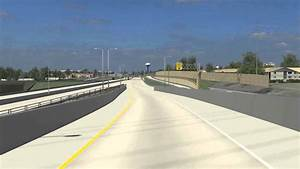 Zoo Interchange, I-94 EB to US 45 NB Animation - YouTube