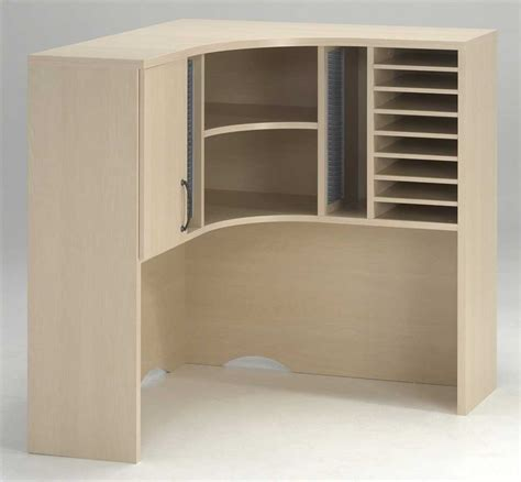 Corner Computer Desk With Hutch Staples by Office Furniture With Hutch Front Desk Counters Design