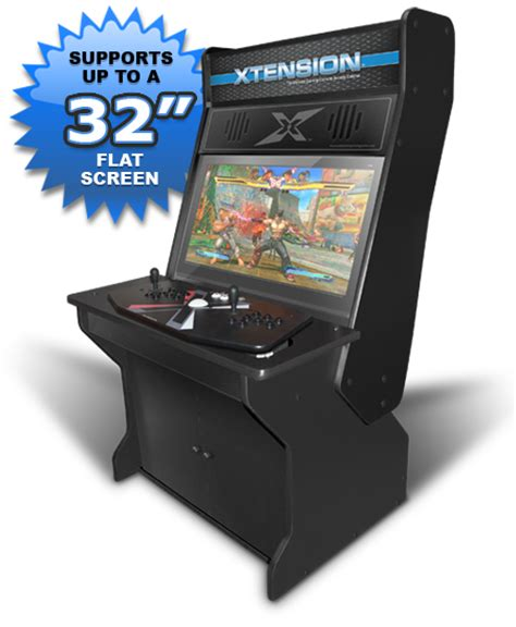 sit xtension arcade cabinet for the x arcade