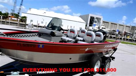 Used Tracker Deep V Fishing Boats For Sale by For Sale 2011 Tracker Boat Pro Guide V Sc Deep V Hull