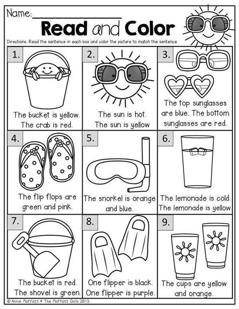 Summer Worksheets Homeschooldressagecom
