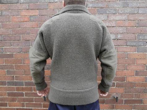 Austrian Military Surplus Wool Sweater