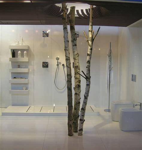 faberk maison design deco tronc d arbre 3 salle de bain deco branchages et fleurs une