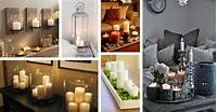 decorating with candles 34 Best Candle Decoration Ideas and Designs for 2018
