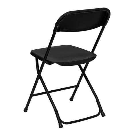 Hercules Resin Folding Chairs by Hercules Series 800 Lb Capacity Black Plastic Folding