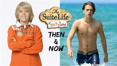 the suite of zack and then and now