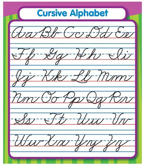 Cursive Alphabet Sticker Pack Grade Pk5
