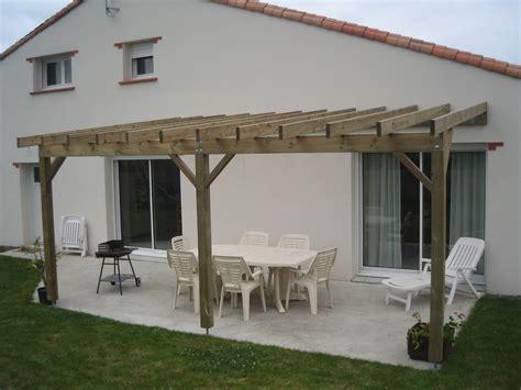 pergola bois terrasse bois berriau menuiserie