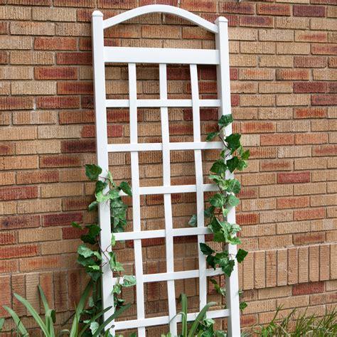 Duratrel Cambridge 6ft Vinyl Arch Trellis White