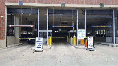 ford field parking deck parking in detroit parkme