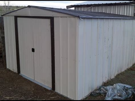 steel shed installation how to save money and do it yourself