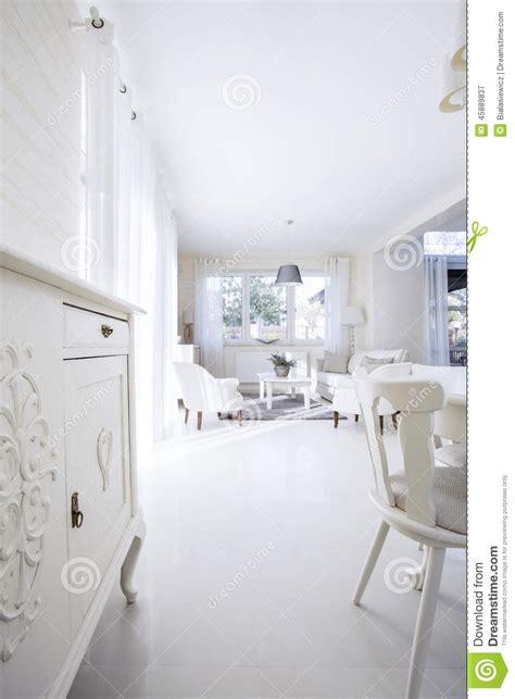 int 233 rieur blanc lumineux de maison photo stock image 45889837