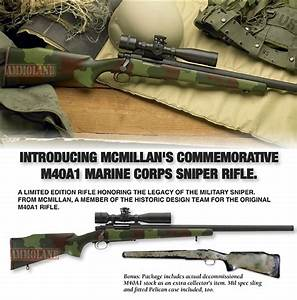 McMillan Announces Limited Edition M40A1 Marine Corps ...