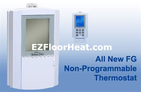 fg dual voltage 120 240 vac non programmable thermostat