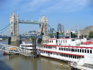 Boat Going Under Tower Bridge by Tower Bridge And Pleasure Boat 169 Colin Smith Geograph