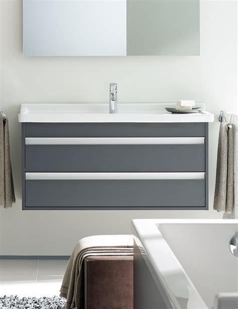 duravit ketho drawer 550mm vanity unit with 600mm basin