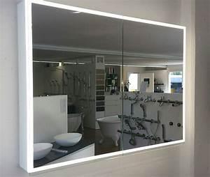 Spiegelschrank Bad 160 Cm Breit : spiegelschrank illuminato von keller breite 120 cm 2 t rig ~ Markanthonyermac.com Haus und Dekorationen