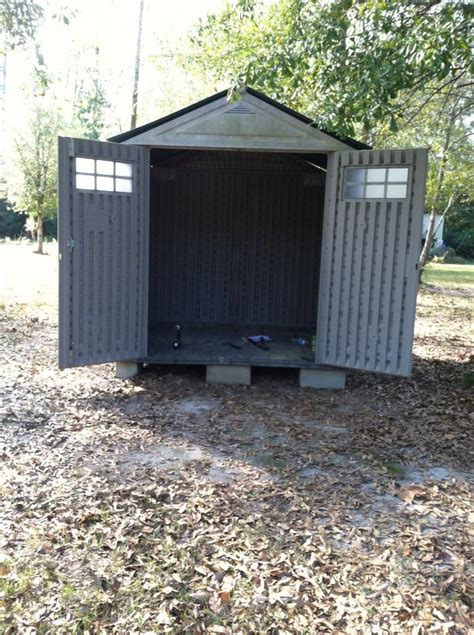 7x7 resin building as hen house includes ideas for
