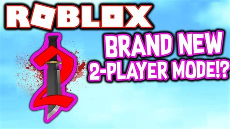 Brand New 2 Player Mode In Roblox Murder Mystery 2?!  Youtube