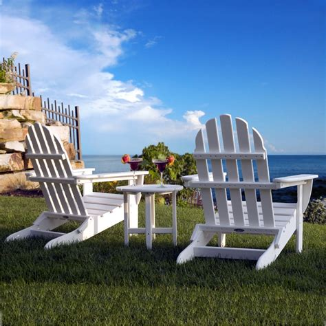 buy polywood classic adirondack chair premium poly patios