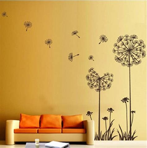 dandelion flower wall decoration wall decoration