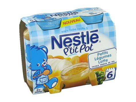 nestl 233 p pot petits l 233 gumes lotte 2x200g d 232 s 6 mois tous les produits assiettes petits