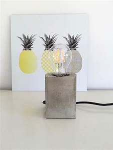 Lampen Selber Herstellen : beton lampe selbermachen diy i diy pinterest lampen basteln und diy lampen ~ Markanthonyermac.com Haus und Dekorationen