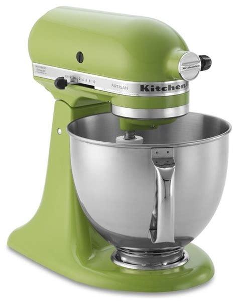 Kitchenaid Artisan Stand Mixer, Green Apple Contemporary