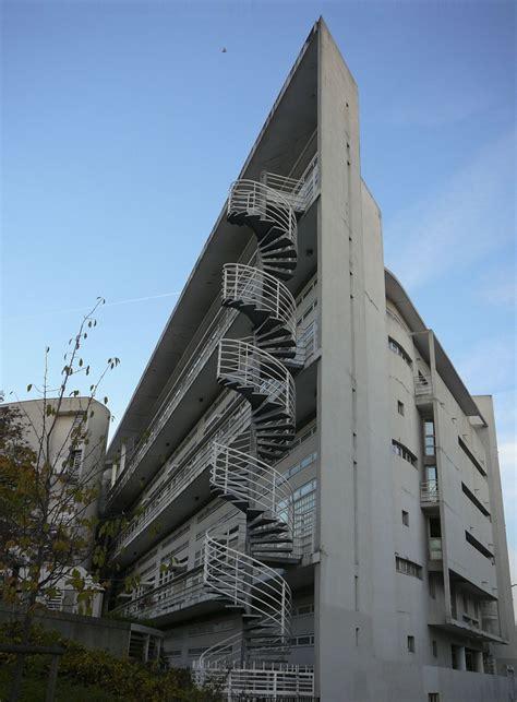 Architecture1993fire Escape Staircaseparis, Rue Leblanc