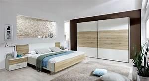 Möbel Schlafzimmer Komplett : komplett schlafzimmer mit eiche nachbildung dekor swansea ~ Markanthonyermac.com Haus und Dekorationen