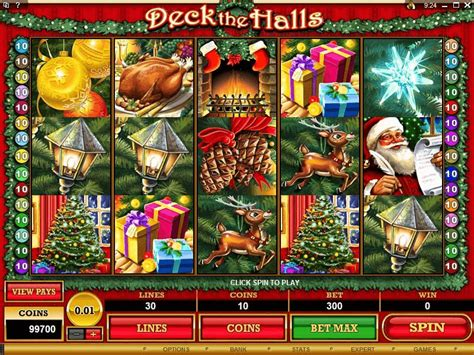 deck the halls slots review 2017 play for free today
