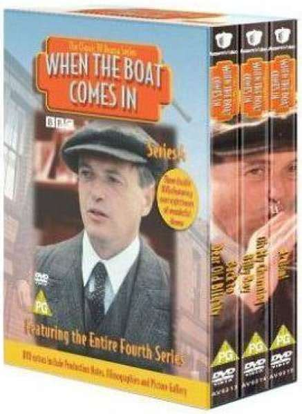 Jack Ford When The Boat Comes In by When The Boat Comes In Series 4 Box Set Dvd Zavvi