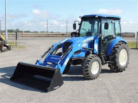2017 New Holland Boomer 50 With Cab Tractors 40 Hp To 99