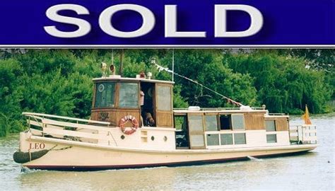 Old Wooden Tug Boats For Sale by Boat Brokers S A
