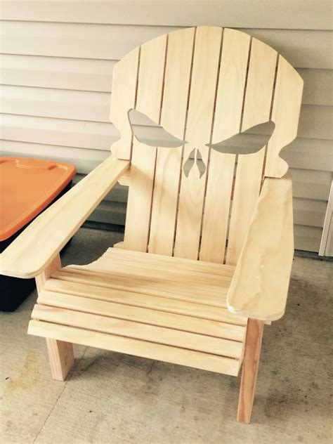 chair build the punisher adirondack made for my