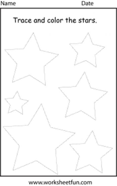 Shape  Star  1 Worksheet  Free Printable Worksheets Worksheetfun