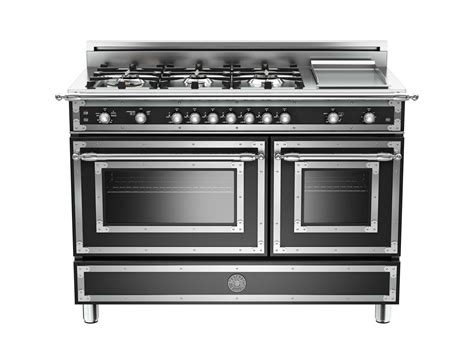 48 Inch 6-burner + Griddle, Gas Double Oven
